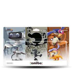 GAMERS: AMIIBO RETRO 3 PACK a $599