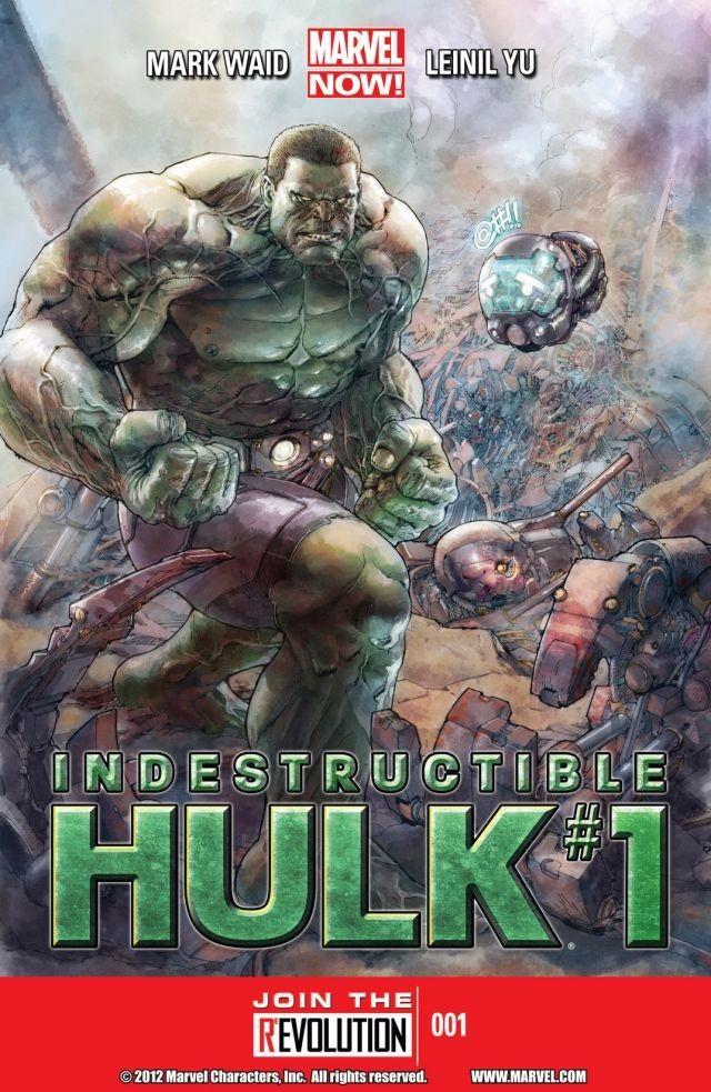 ComiXology Indestructible Hulk #1 GRATIS