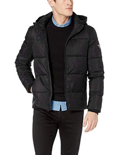 Amazon: Calvin Klein - Chamarra de Puffer con Revestimiento para Hombre