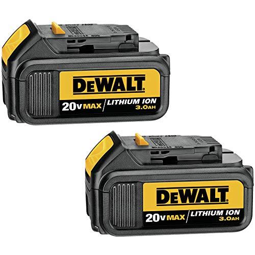 Amazon: Dos baterias Dewalt 20v de 3.0 Ah
