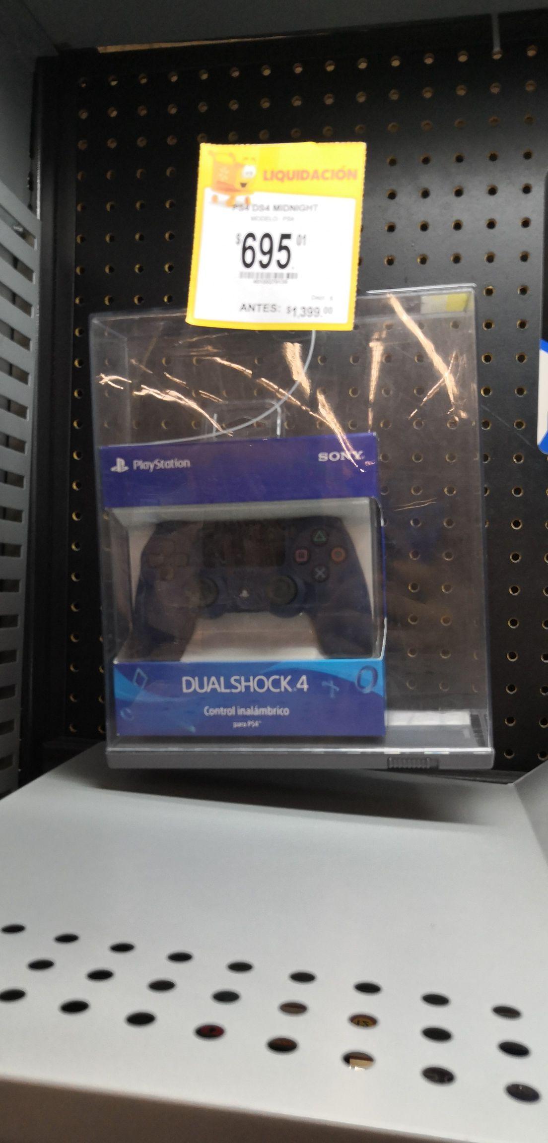 Walmart Rentería León Gto: Dualshock 4 Azul