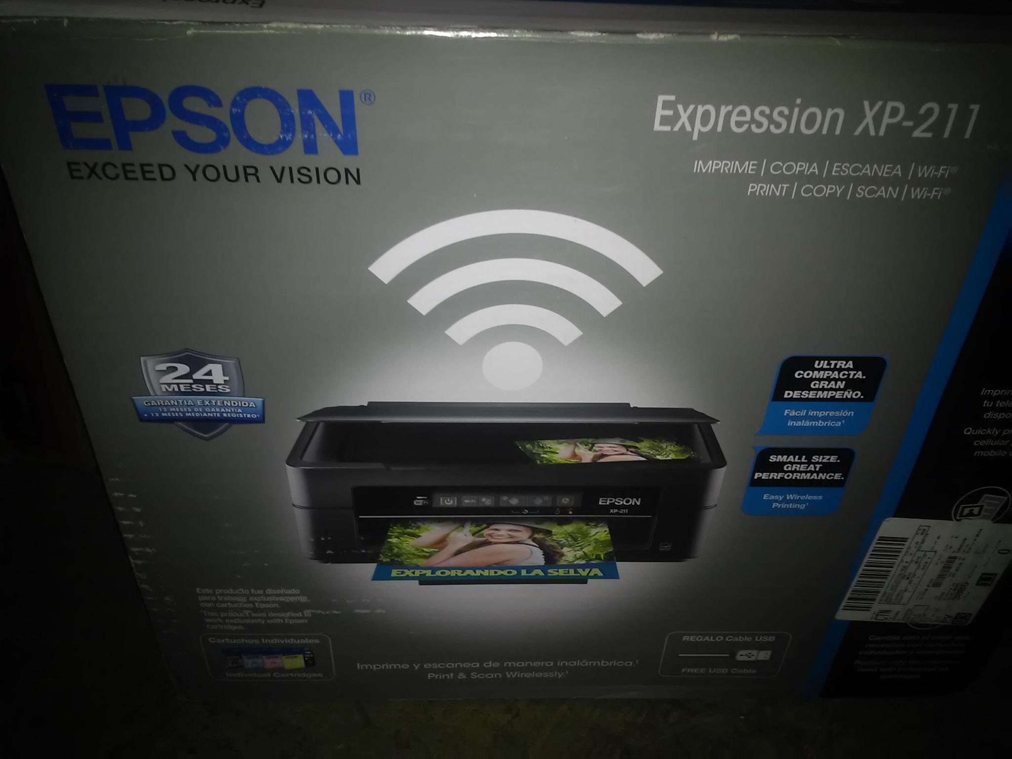 Walmart las animas puebla: Multifuncional Epson XP-211 $999