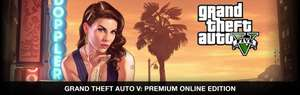 Fanatical: Grand Theft Auto V: Premium Online Edition (PC)