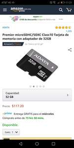 Amazon: Micro SD 32GB