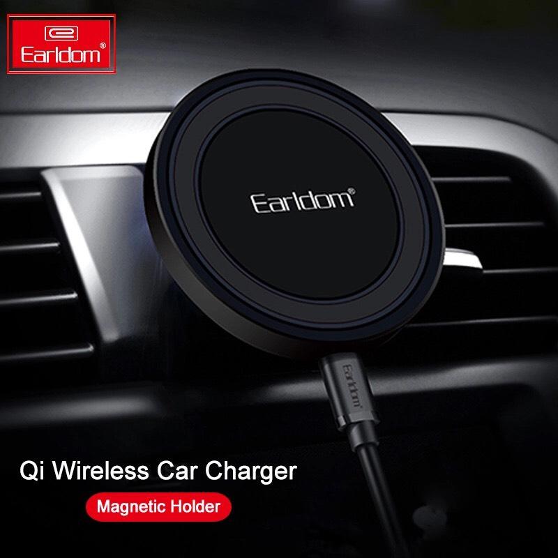 AliExpress: Cargador de coche inalámbrico Qi magnético para Iphone, Samsung, Huawei carga rápida