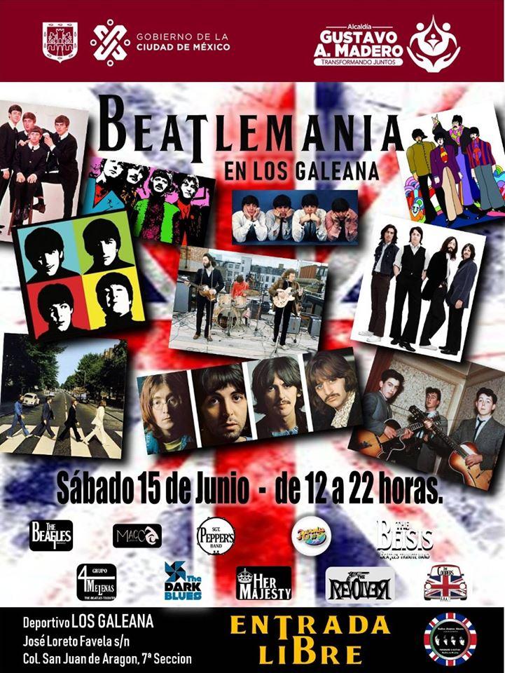 CDMX: Concierto GRATIS de The Beatles por el día del padre