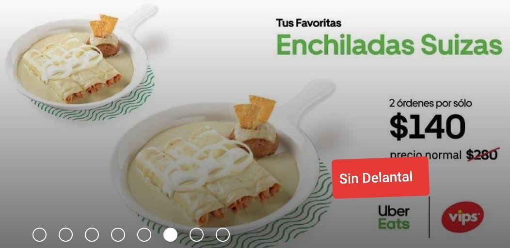 SinDelantal: órden de enchiladas suizas VIPS