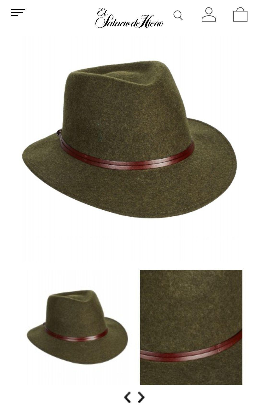 El Palacio de Hierro en línea: Sombrero Chester & Peck