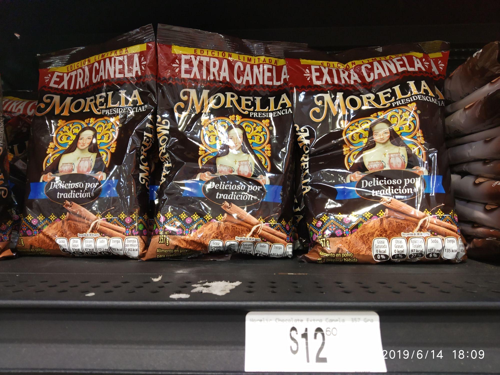 Chedraui: Saborizante de chocolate Morelia extracanela