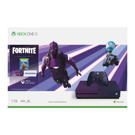 Sam's Club: Consola Xbox One S 1TB Edición Especial Fortnite + Fortnite Battle Royale + 1 Mes de Xbox Live Gold