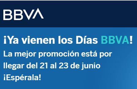 BBVA: Días BBVA hasta 150% de bonificación en puntos Bancomer (mínimo $1,000 a MSI)