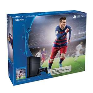Amazon: PS4 consola PlayStation 4 de 500GB + FIFA 16