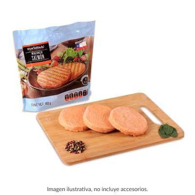Walmart Súper: Medallones de salmón Marketside 400 g