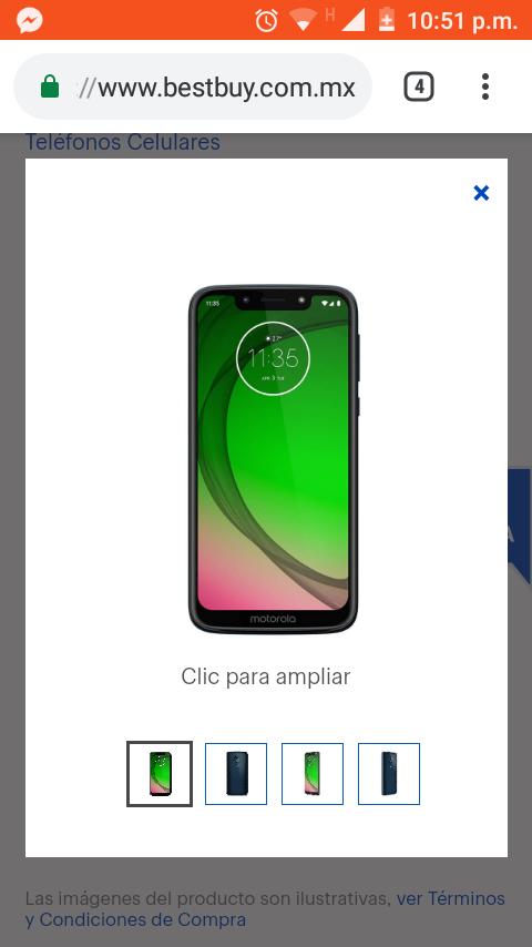 Best Buy: Smartphone Motorola G7 Play SE