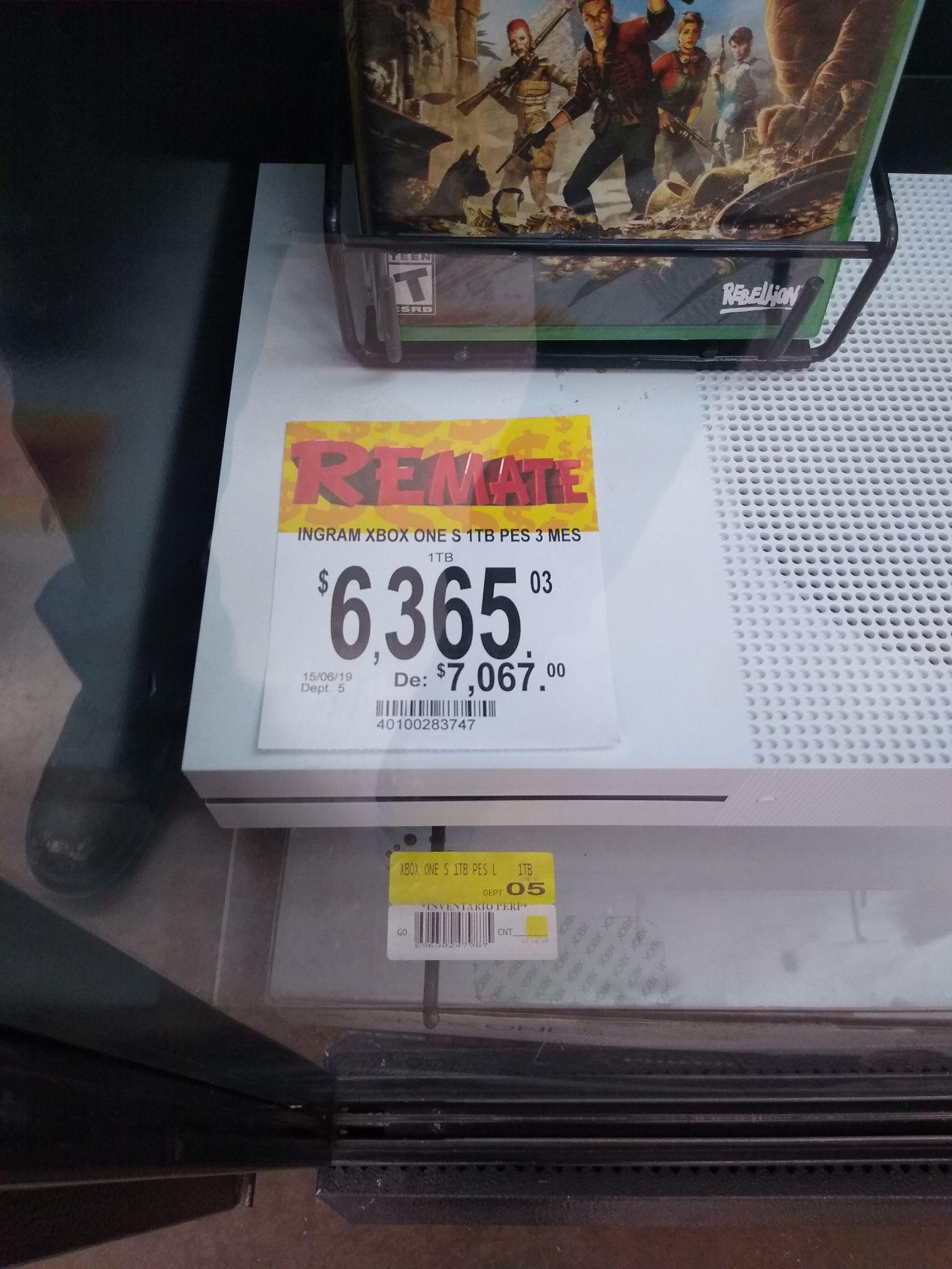 Bodega Aurrera: Xbox One s 1Tb PES, Bluray en $643 y más