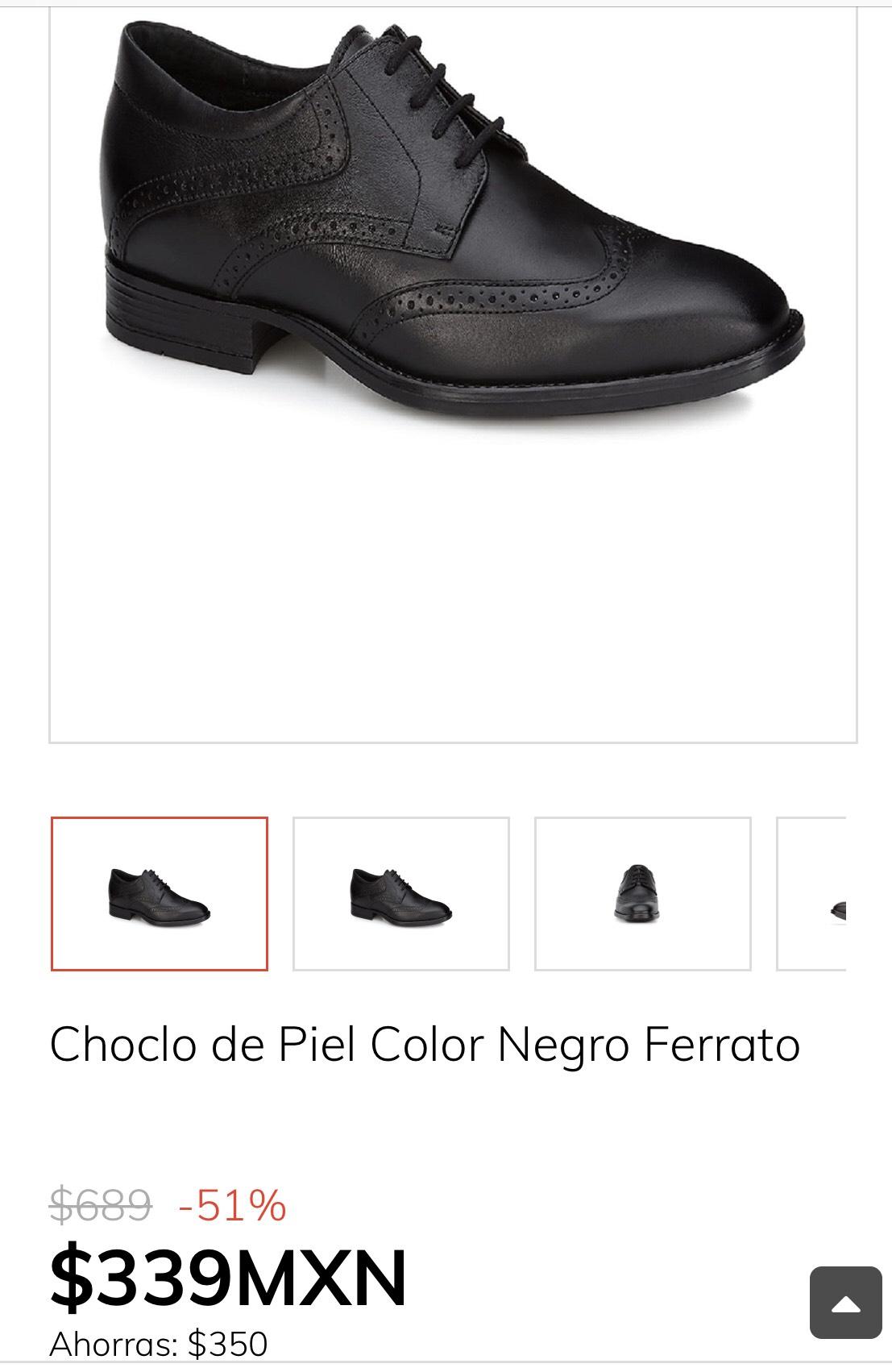 Claro Shop: Choclo de Piel Color Negro Ferrato