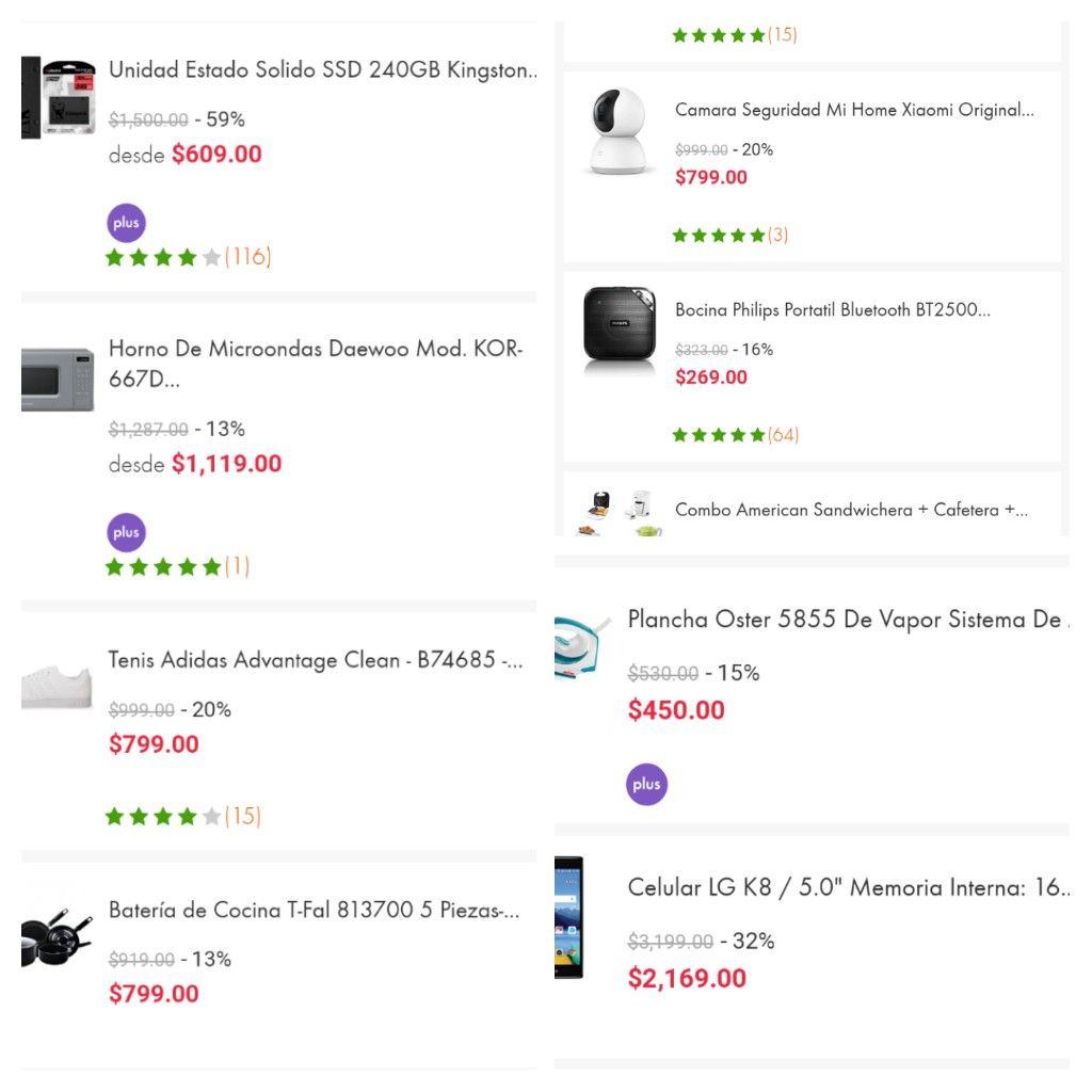 LINIO: Recopilación de productos con descuento usando cupón y PayPal