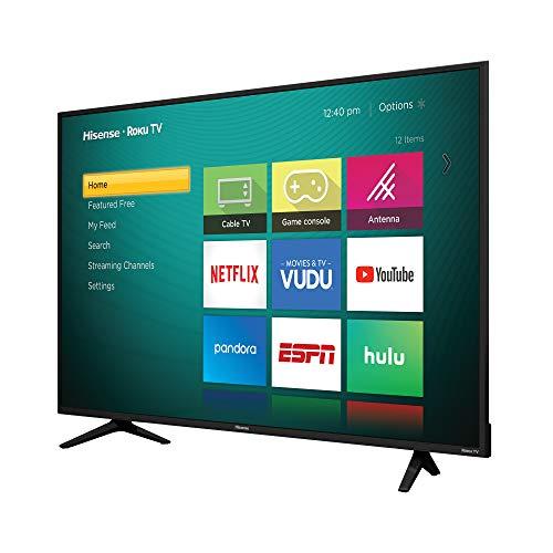"Amazon: Smart TV HiSense 55"" 4K UHD 55r6e Roku (REACONDICIONADA)"