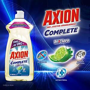 Amazon: Lavatrastes Axion Complete Tricloro 640 ml