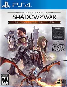 Amazon: Middle Earth Shadow of War Definitive Edition PS4