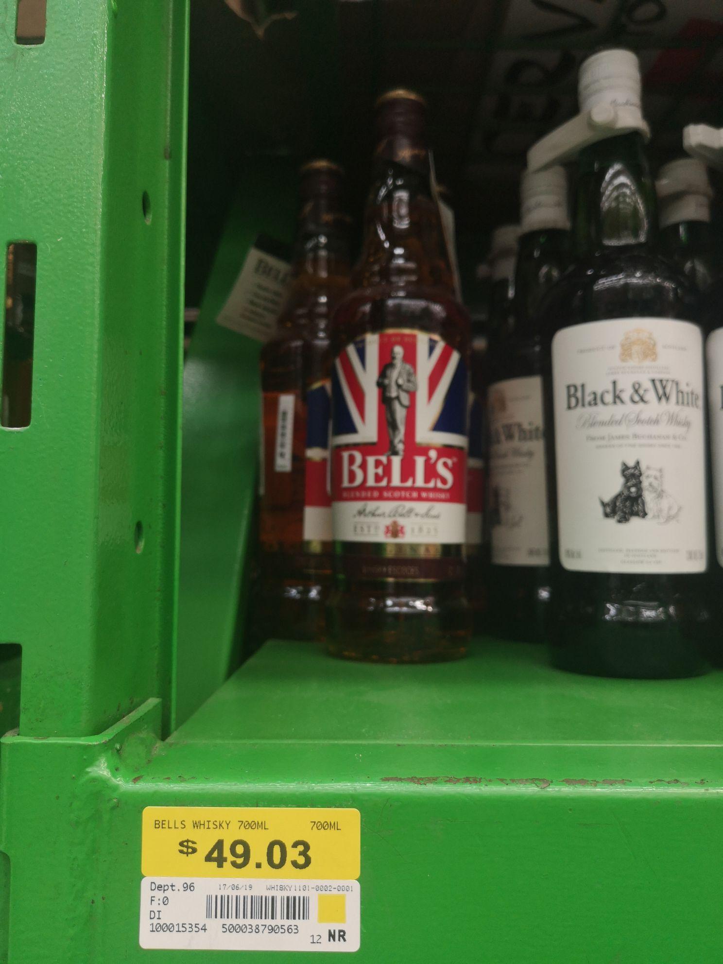 Bodega Aurrera: Whisky Bell's