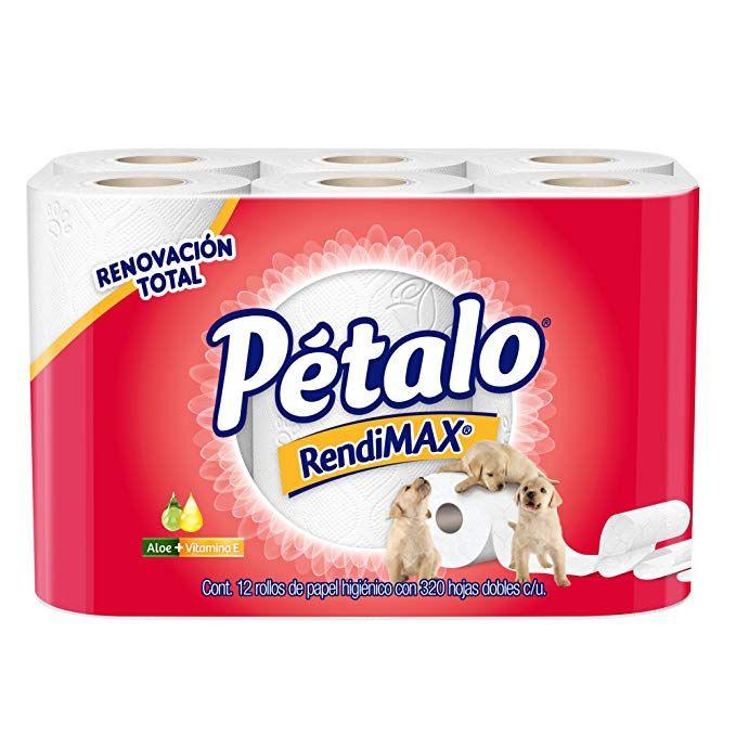AMAZON: Petalo Rendimax 12 Rollos (comprando 4 pzs)