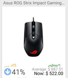 Amazon: ASUS ROG Gaming Mouse