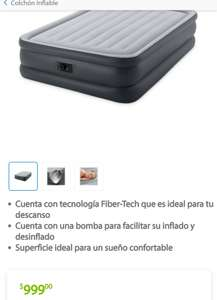 Sam's Club: Colchón inflable Intex Queen size