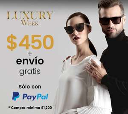 Privalia: $450 + ENVIO GRATIS pagando con PayPal