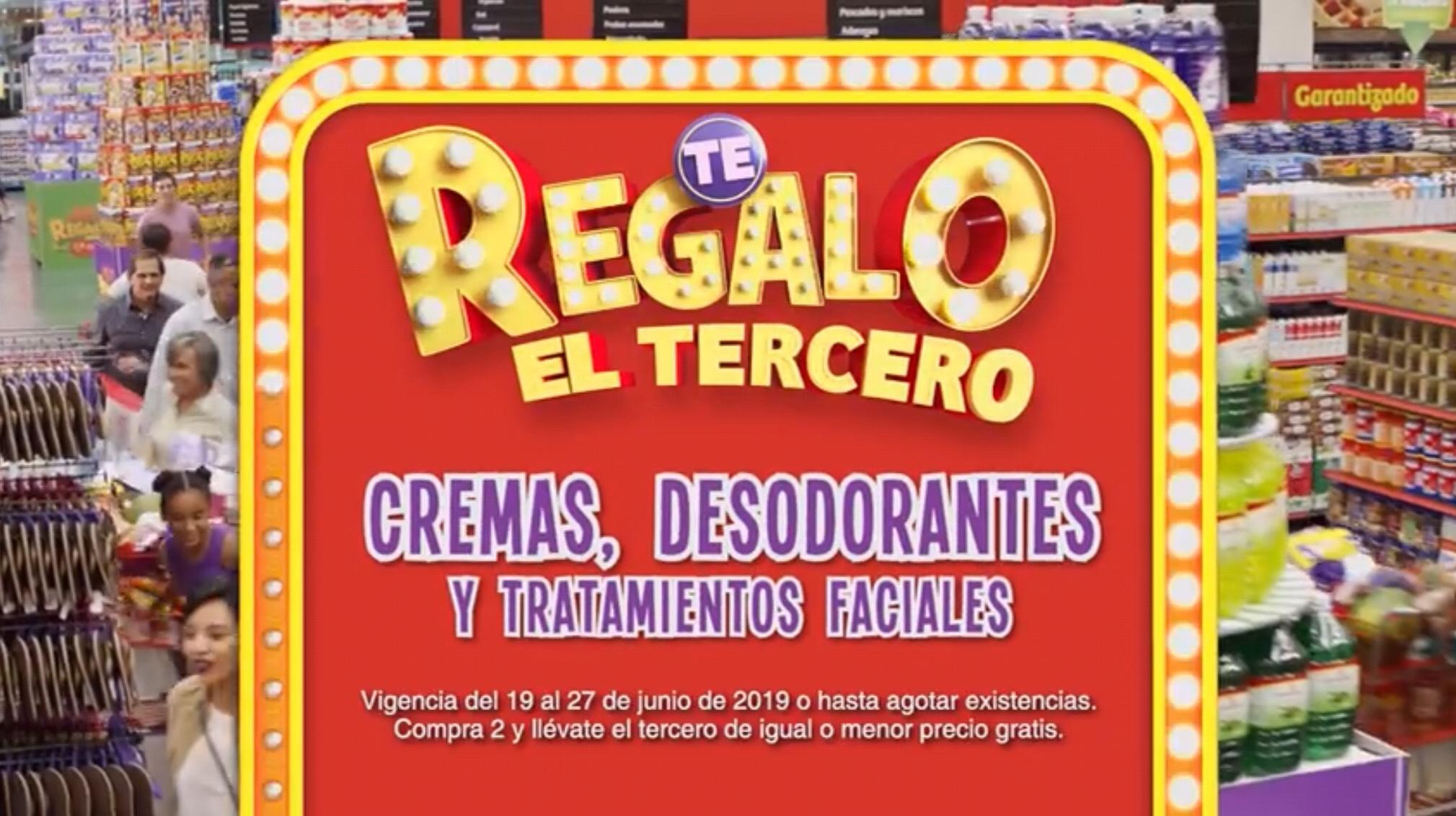 Julio Regalado en Soriana: 3x2 en Todas las Cremas, Desodorantes y Tratamientos Faciales