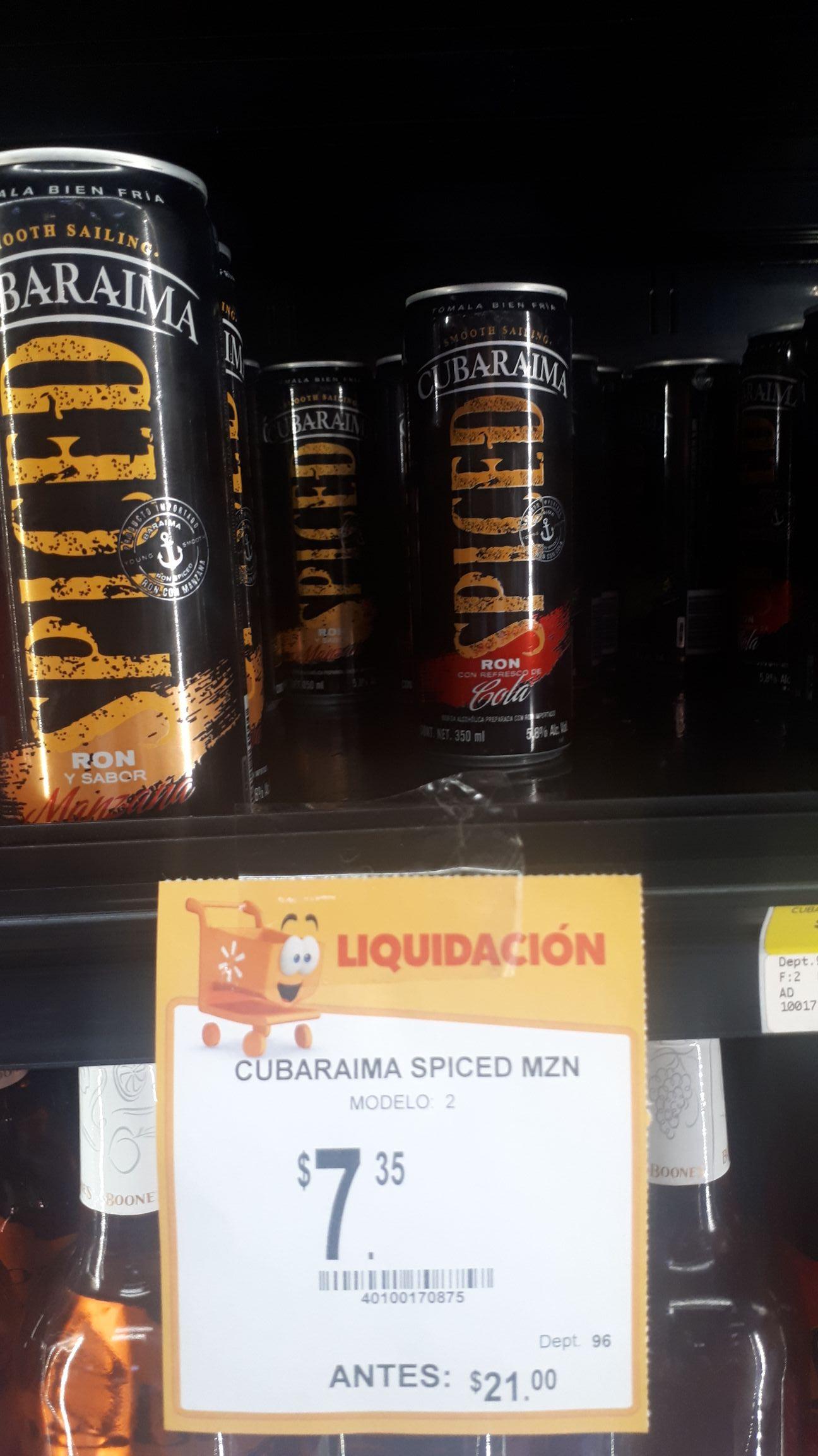 Walmart: Cubaraima a $7