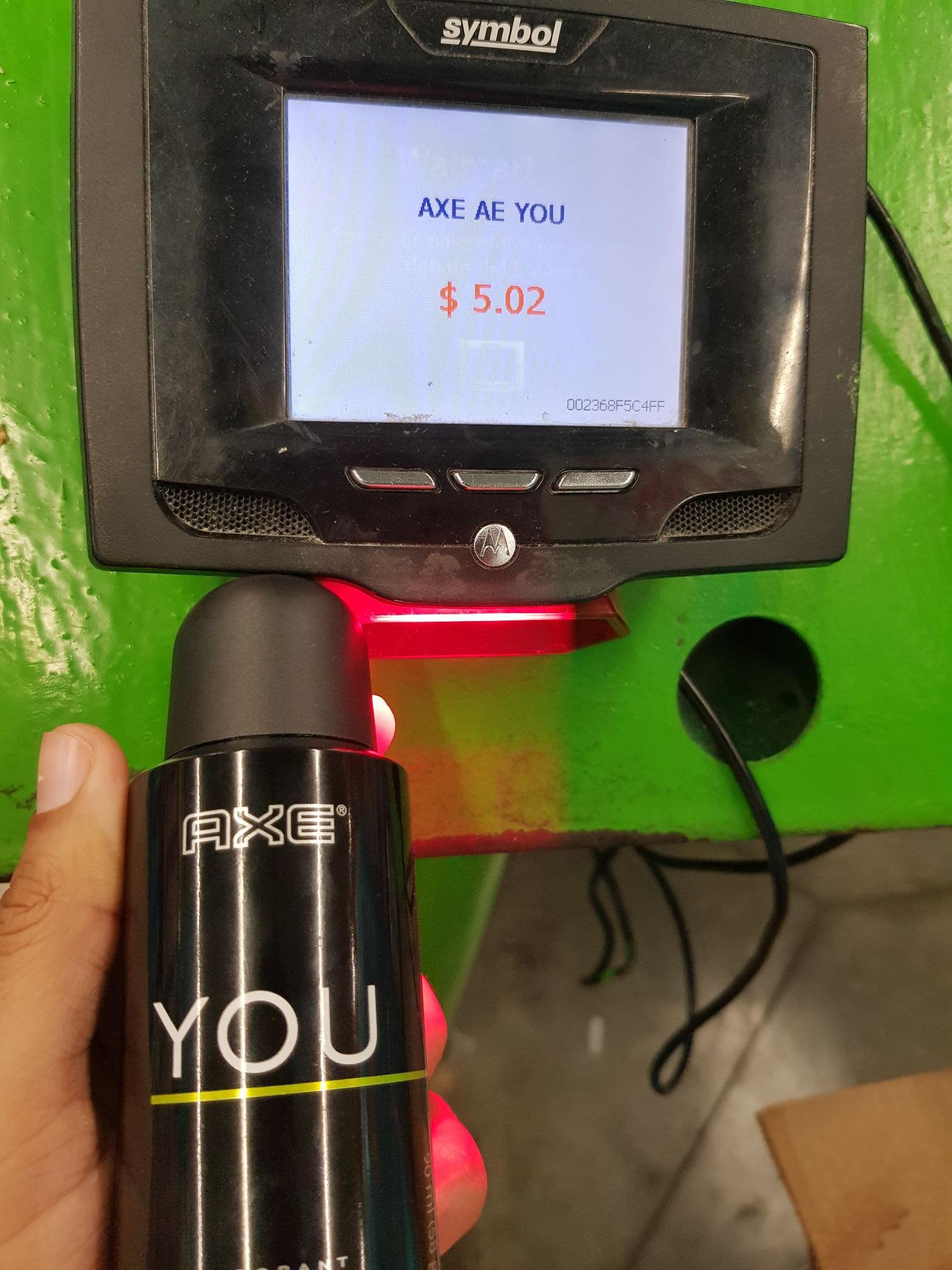 Bodega aurrera: Desodorante axe 5.02