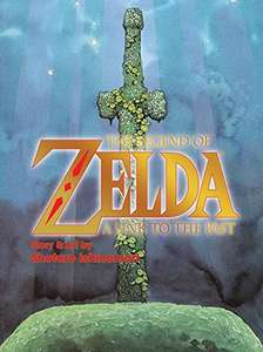 "Amazon MX: Manga ""Legend of Zelda: A Link to the Past"" en inglés"