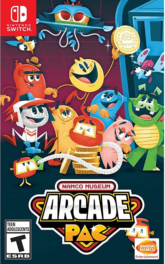 Amazon: NAMCO museum arcade pac