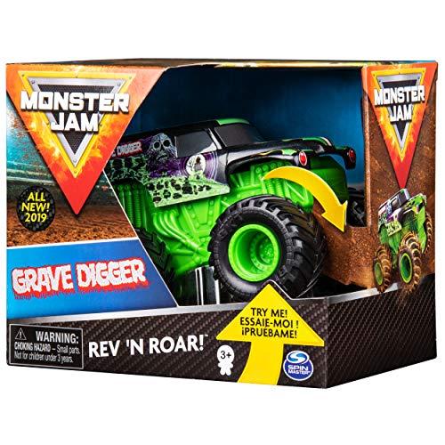 Amazon Vehículo Monster Jam de Fricción Grave Digger, Escala 1:43 Spin Master Mejor precio historico