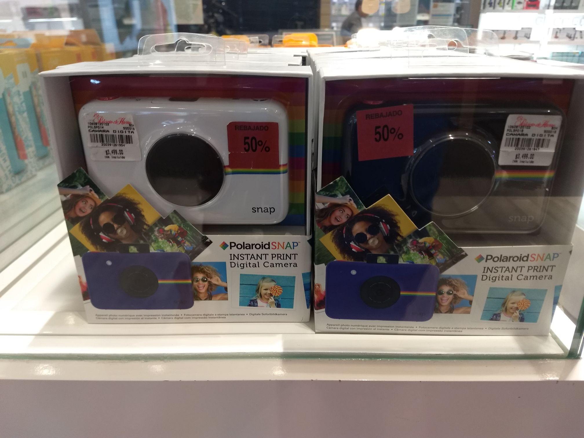 Palacio de hierro polanco Polaroid SNAP instant print digital campera 50% de descuento visto