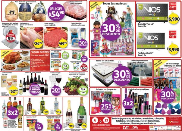 Soriana: 3x2 en cosméticos y licores seleccionados, 30% en muñecas y más