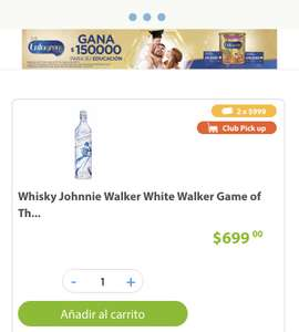 Sam's Club: Johnnie Walker White Walker - 2 x 999: $500 c/u