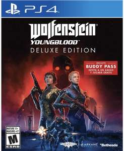 Amazon: Preventa Wolfenstein Youngblood Deluxe Edition (PS4, XBOX One y Switch)