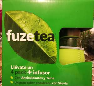 Walmart Mexicali: Pack Fuze Tea (4 botellas 600ml + Infusor ), Monopoly Junior y más