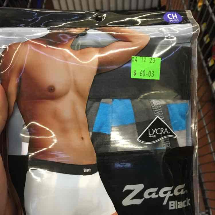 Walmart San Angel Puebla: Bóxer trunk para hombre marca Zaga en $30.02