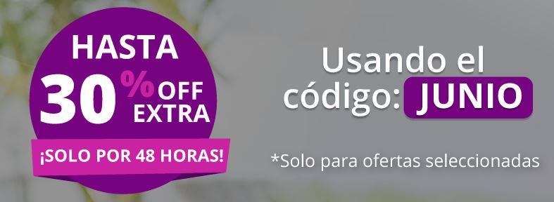 Groupon: Hasta 30% descuento Extra en ofertas seleccionadas