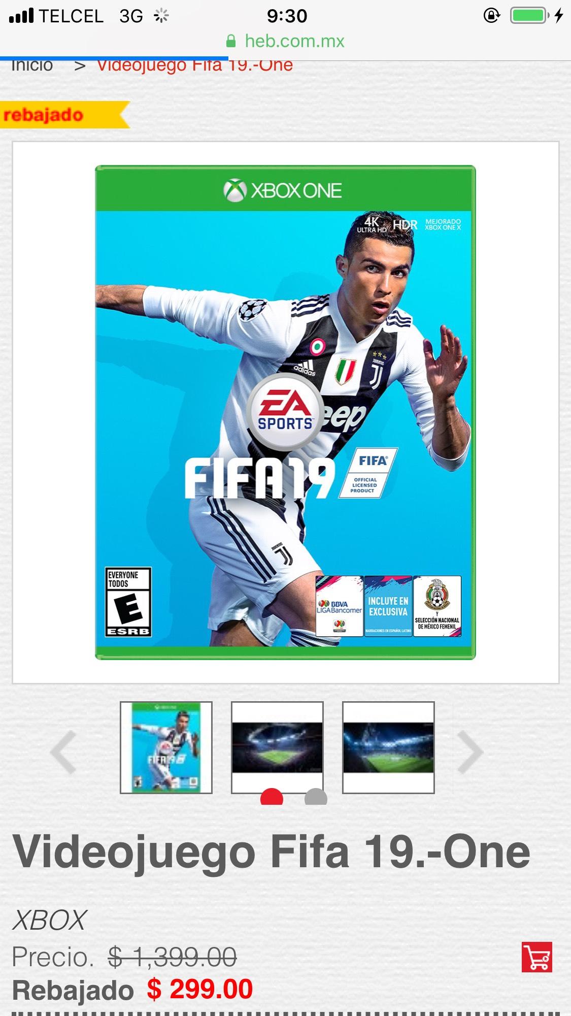 FIFA 19 HEB Mexico
