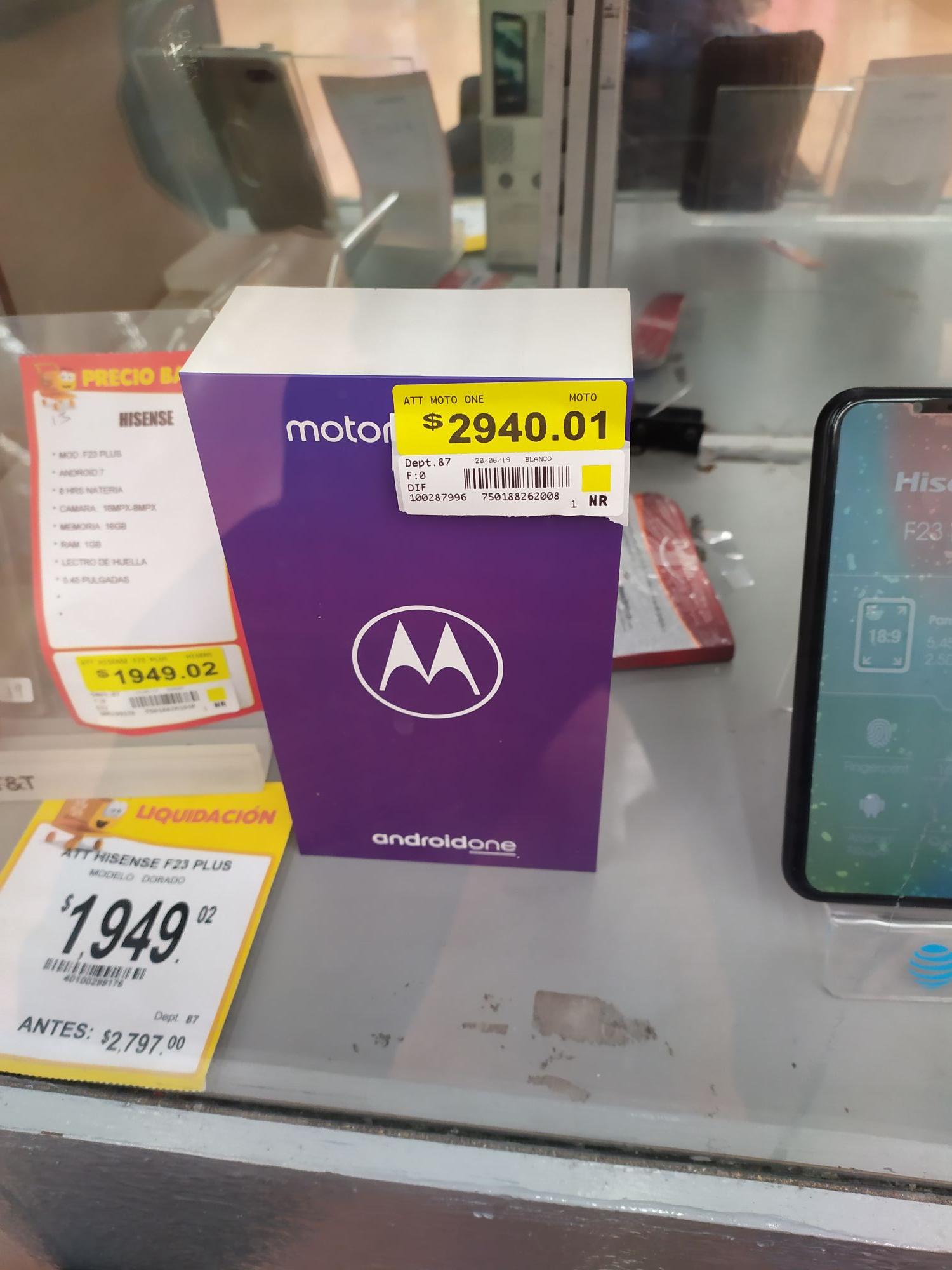 Walmart: Moto one