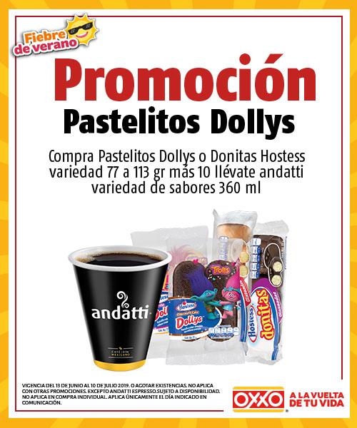 Oxxo: Compra panecito Hostess y llévate un café Andatti por $10