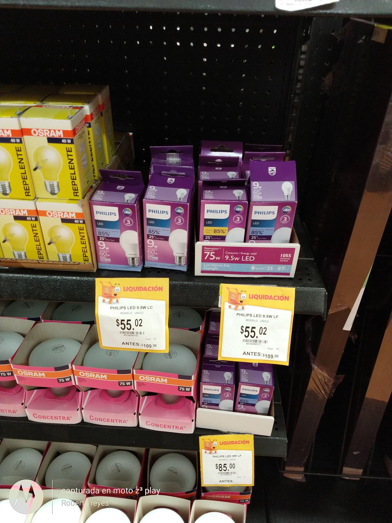 Walmart: Focos ahorradores