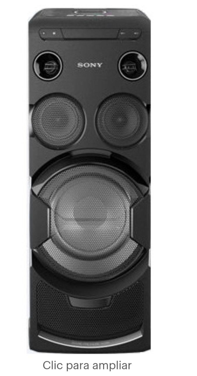 Best Buy: Sony - Minicomponente - V77D- Wi-Fi/BluetoothT/NFC - Negro