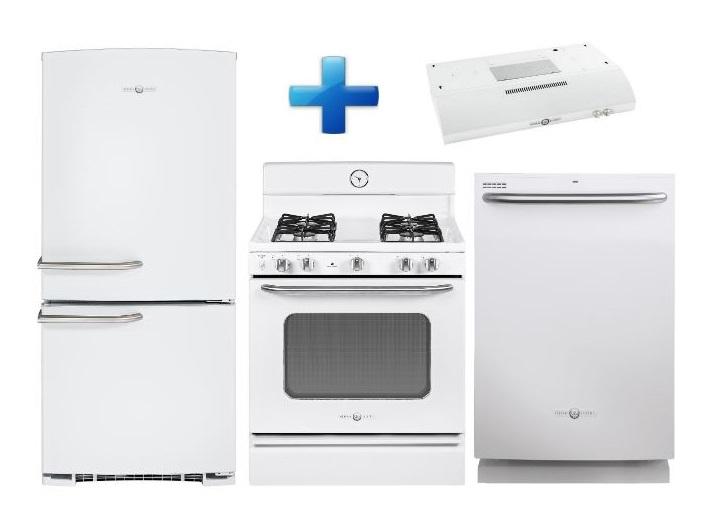 Best Buy Paquete de Refrigerador, Estufa, Lavavajillas y Campana Línea Retro