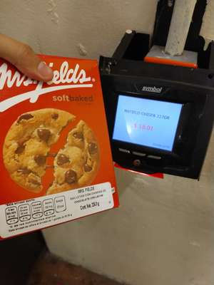 Walmart Rosario: Galletas Mr. Fields