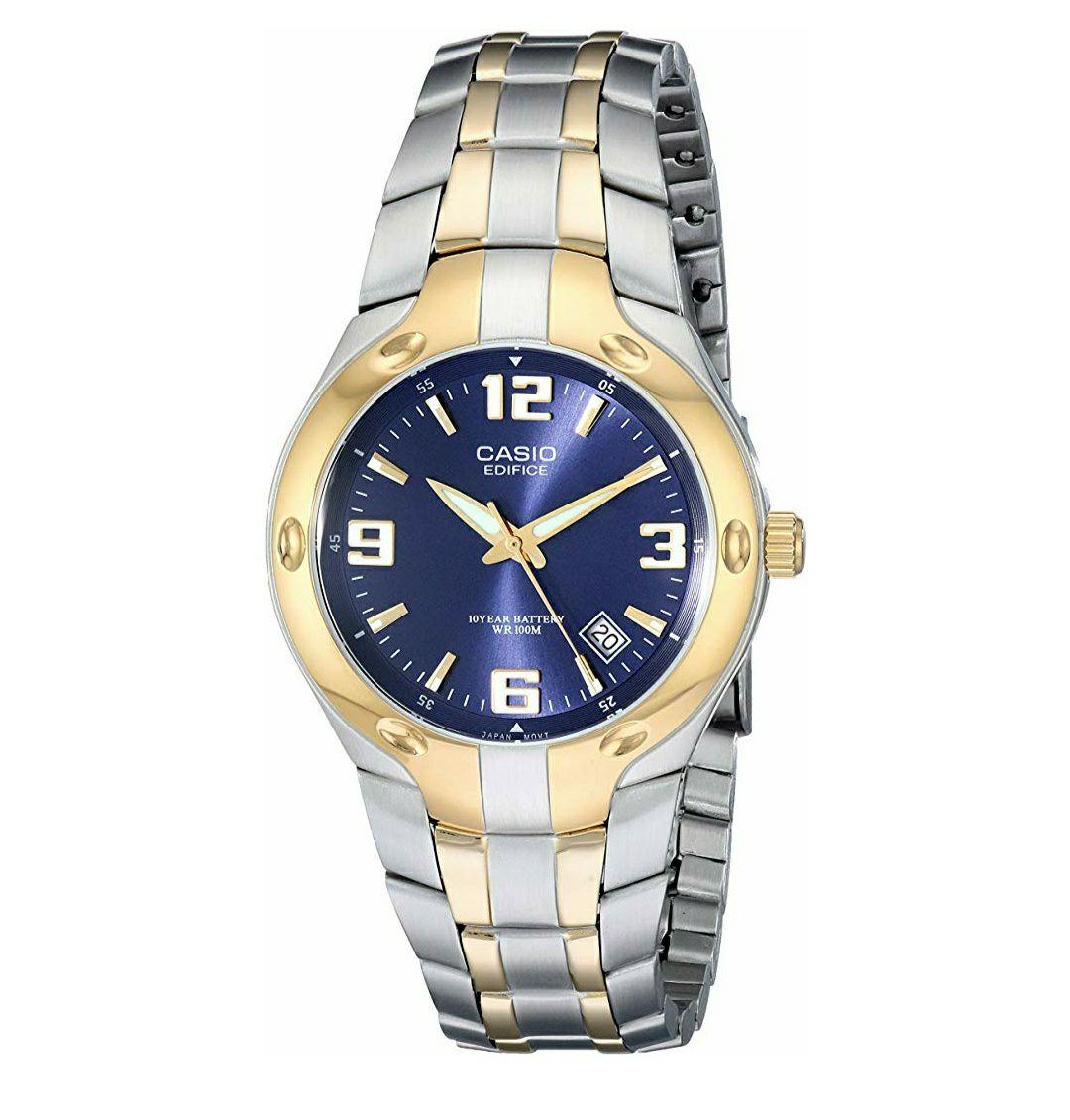 Amazon Mx: Reloj Casio Edifice Hombre EF106SG-2AV